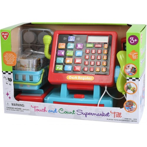 Playgo Ταμειακή Μηχανή Σούπερ Μάρκετ - 37τμχ (3232)