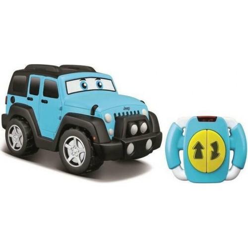 Bburago Junior τηλεκατευθυνόμενο Jeep Wrangler Lil Drivers γαλάζιο 16-82301