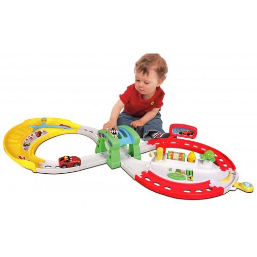 Bburago Γκαράζ πίστα  με αυτοκινητάκι για βρέφη και μικρά παιδιά 16-88802
