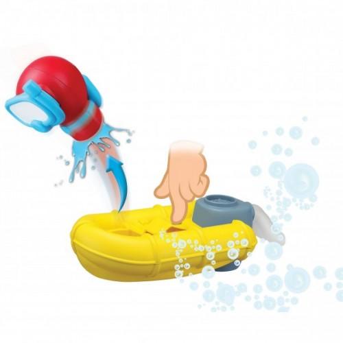 Bburago Junior Splash 'N Play ρυμουλκό πλοίο με σχεδία διάσωσης 16-89014