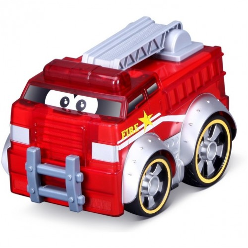 Bburago Junior παιδικό πυροσβεστικό όχημα κόκκινο με ήχο και ώθηση 16/89006