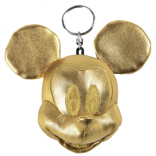 MICKEY Mouse Πορτοφολάκι Μπρελόκ χρυσό