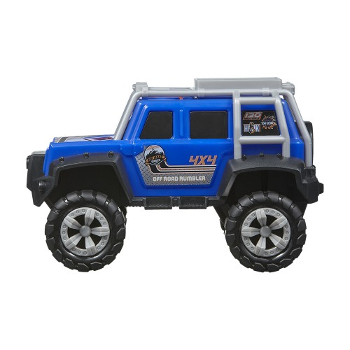 "Nikko αυτοκίνητα με φώτα και  ήχους OFF ROAD RUMBLER ™ - DEEP BLUE (7"" / 18CM) 36/20092"