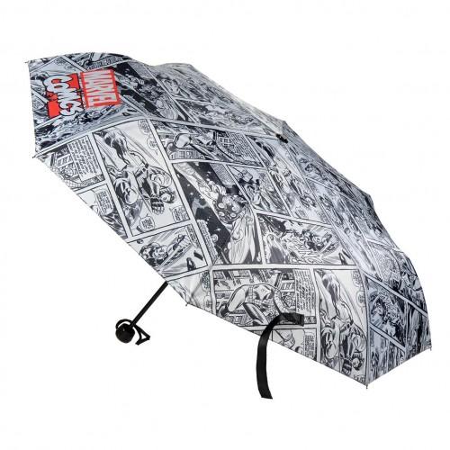 AVENGERS ομπρέλα με αυτόματο άνοιγμα premium μαύρη