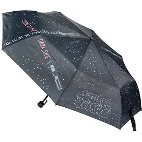 STAR WARS ομπρέλα με αυτόματο άνοιγμα premium μαύρη
